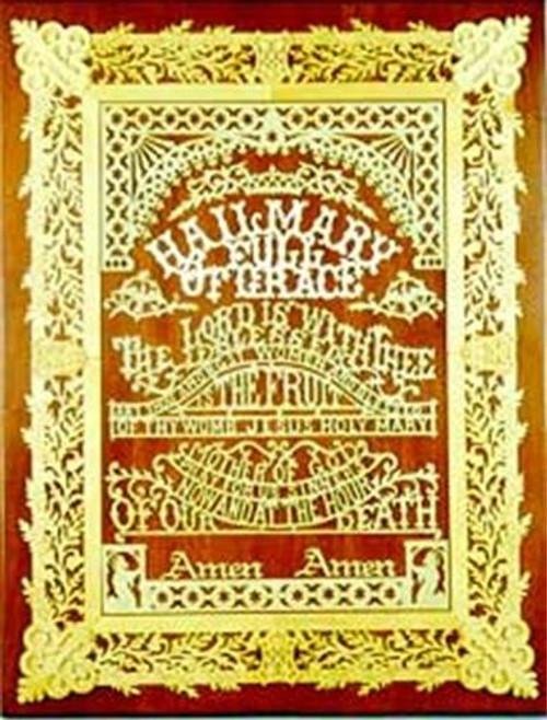 Wildwood Designs Hail Mary Prayer Scroll Saw Plan