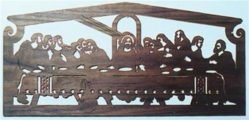 Wildwood Designs The Last Supper Scroll Saw Plan