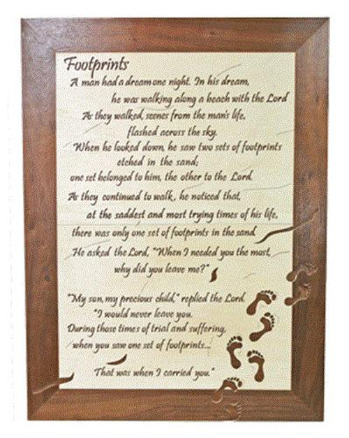 Wildwood Designs Footprints Scroll saw Plan
