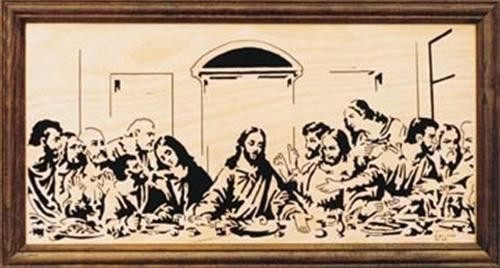 Wildwood Designs Large Last Supper Scroll Saw Plan