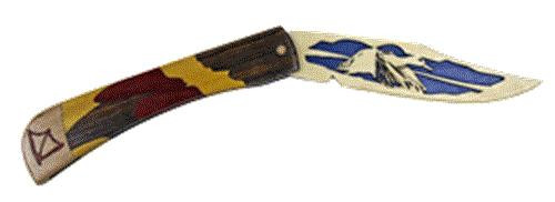 Wildwood Designs Mallard Scroll Saw Pocket Knife Plan