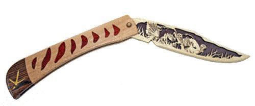 Wildwood Designs Turkey Scroll Saw Pocket Knife Plan