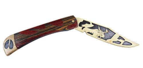 Wildwood Designs Moose Scroll Saw Pocket Knife Plan
