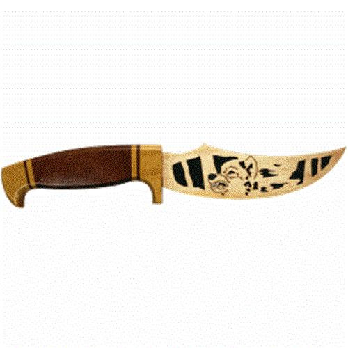 Wildwood Designs Wolf Scroll Saw Hunting Knife Plan