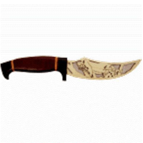 Wildwood Designs Cougar Scroll Saw Hunting Knife Plan