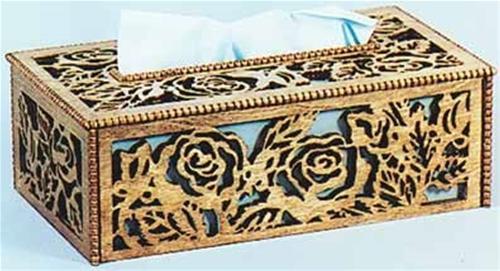 Wildwood Designs Tissue Box Cover Scroll Saw Plan