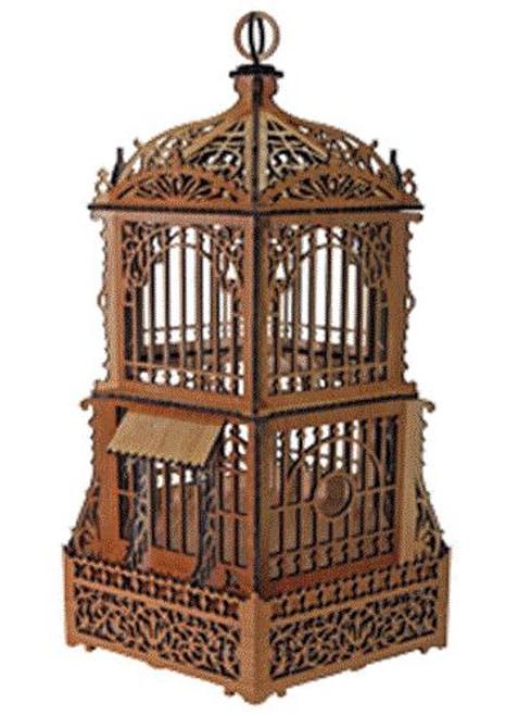 Wildwood Designs Bird Cage Scroll Saw Plan