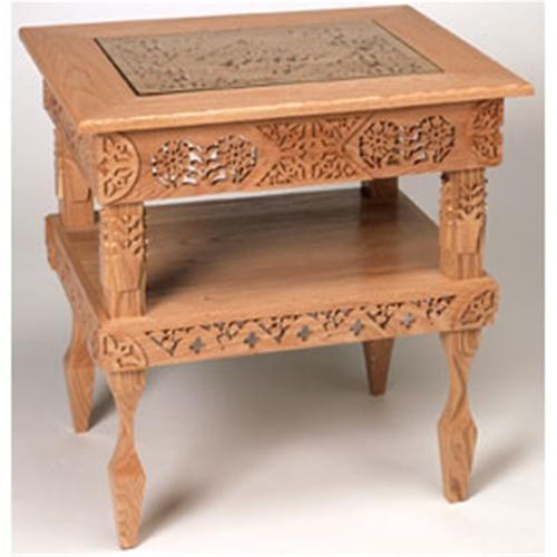 Wildwood Designs End Table Scroll Saw Plan