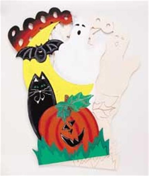 Cherry Tree Toys Cat, Pumpkin and Ghost Plan