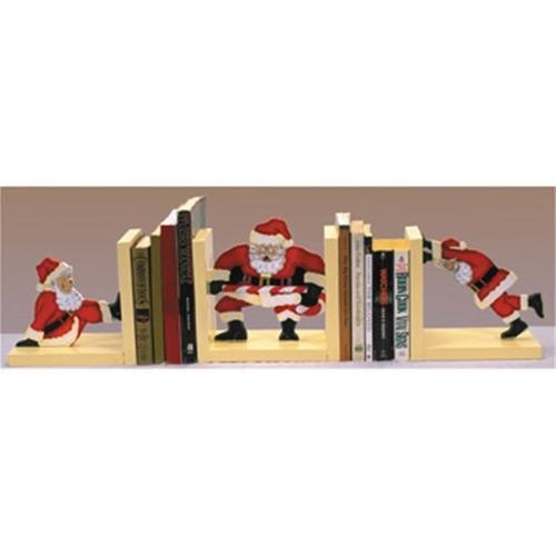 Sherwood Super Santa Bookends Woodworking Plan.