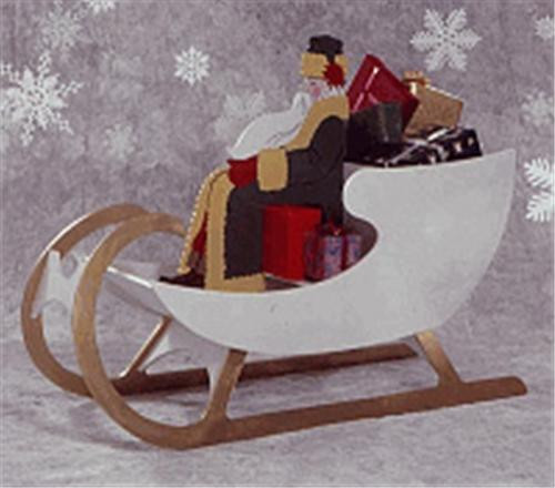 Sleigh For Saint Nick Woodworking Plan will inspire the holiday spirit.