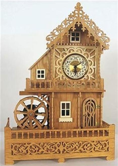 Wildwood Designs Mill Clock Scroll Saw Plan