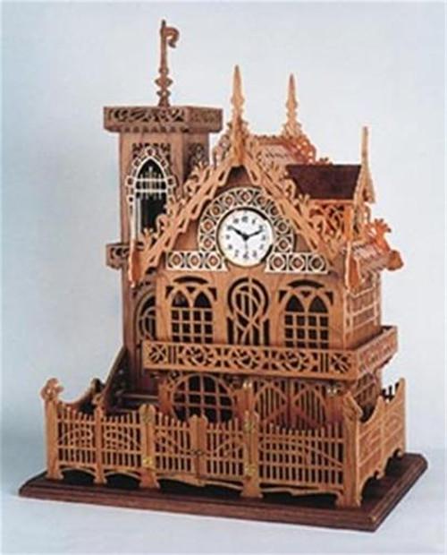 Wildwood Designs German Chalet Scroll Saw Clock Plan