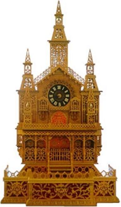 Wildwood Designs Chimes of Normandy Clock Scroll Saw Plan