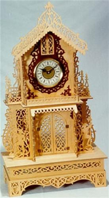 Wildwood Designs The Cavalier Scroll Saw Clock Plan