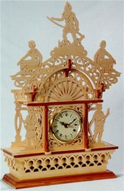 Wildwood Designs Father Time Scroll Saw Clock Plan