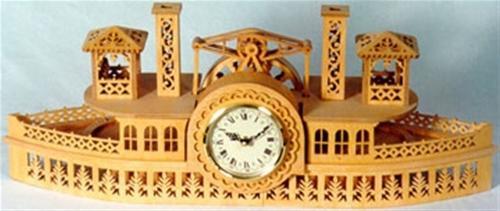 Wildwood Designs Steamboat Clock Plan