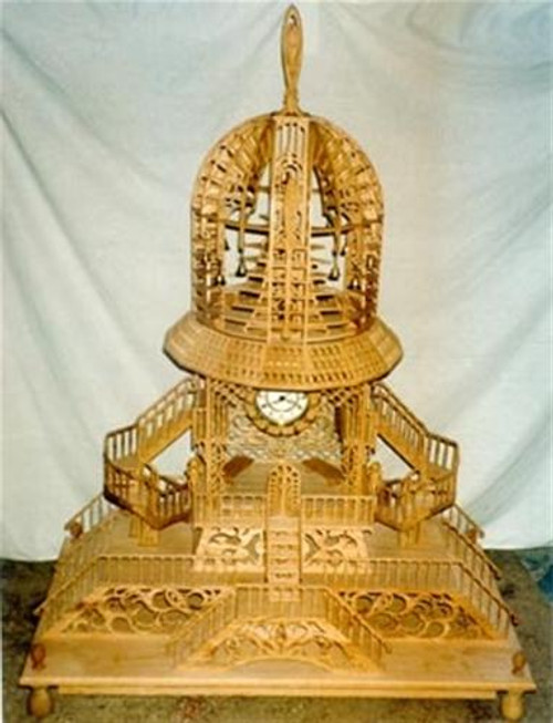 Wildwood Designs Bell Tower Scroll Saw Clock Plan