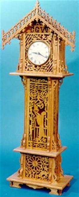 Wildwood Designs Mini Grandfather Scroll Saw Clock Plan