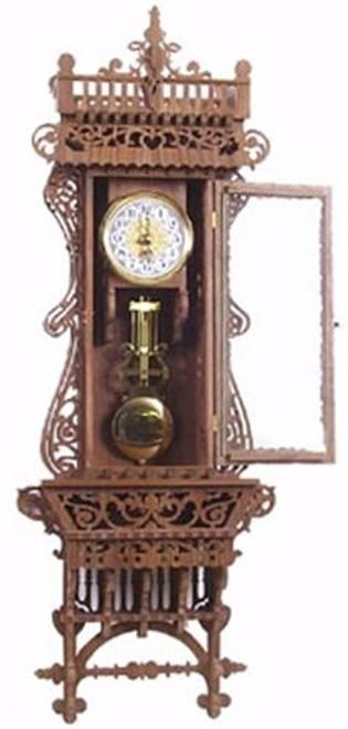 Wildwood Designs Daniel Wall Scroll Saw Clock Plan