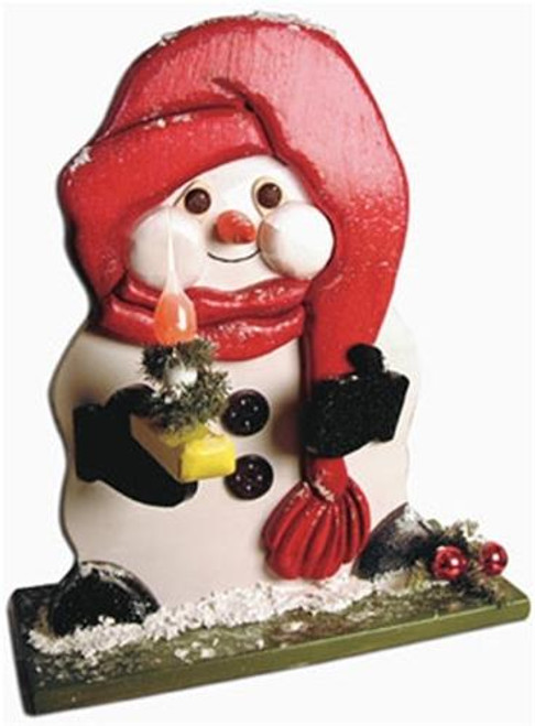 Cherry Tree Toys Snowman with Candle Plan