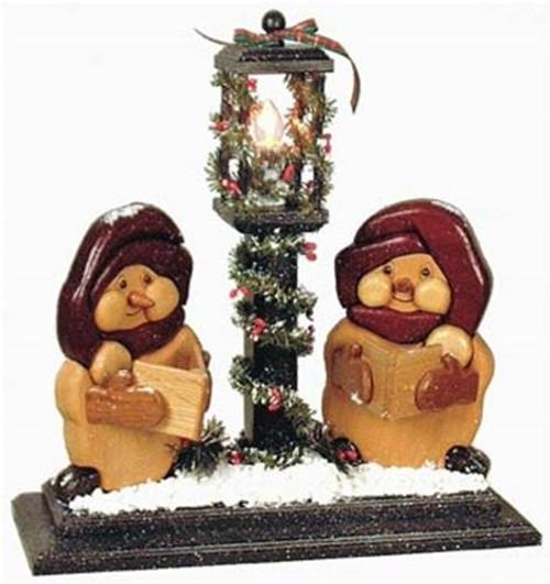Cherry Tree Toys Lamp Post Carolers Plan
