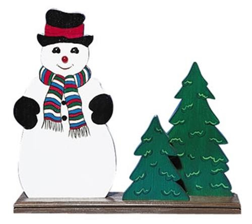 Cherry Tree Toys Snowman with Nose Plan