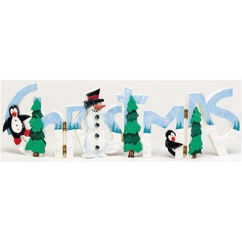 Cherry Tree Toys Christmas Word Art Plan