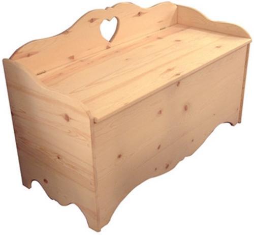 Cherry Tree Toys Country Storage Bench Plan