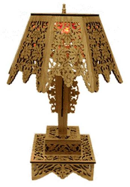 Wildwood Designs Classical Fretwork Lamp Plan