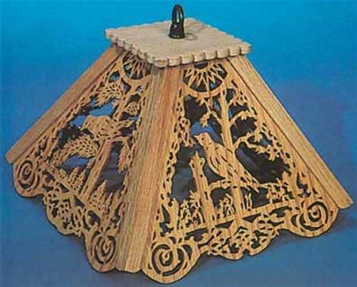 Wildwood Designs Bird Lamp Shade Plan