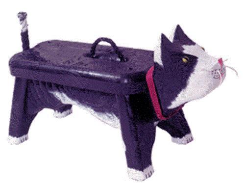 Cherry Tree Toys Woodendipity Kitchin Cat Footstool Plan