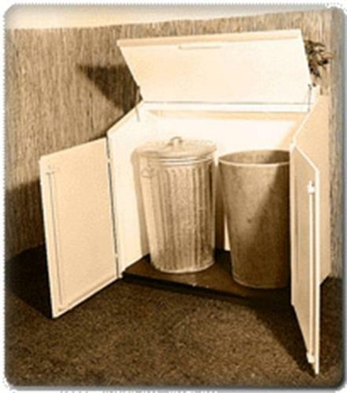 U-Bild Trash Can Shelter Plan