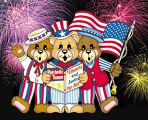 Winfield Collection Patriotic Bears Woodworking Plan