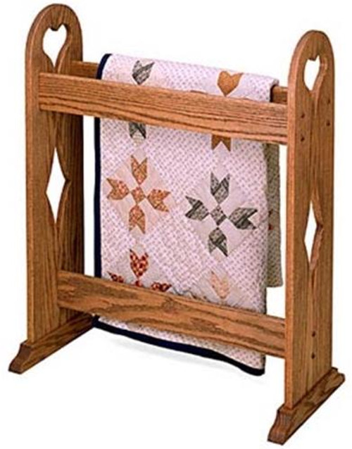 Cherry Tree Toys Quilt Rack Stand Plan