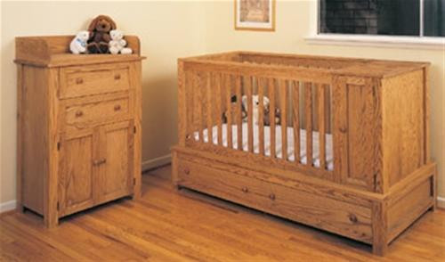 U-Bild Crib and Bed Plan
