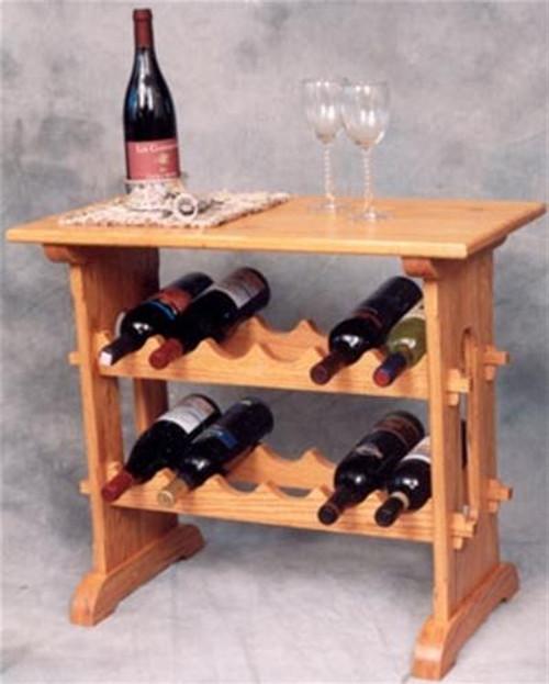 Cherry Tree Toys Wine Rack Table Plan