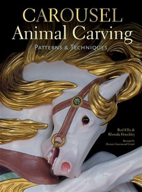 Sterling Publishing Carousel Animal Carving Patterns and Techniques
