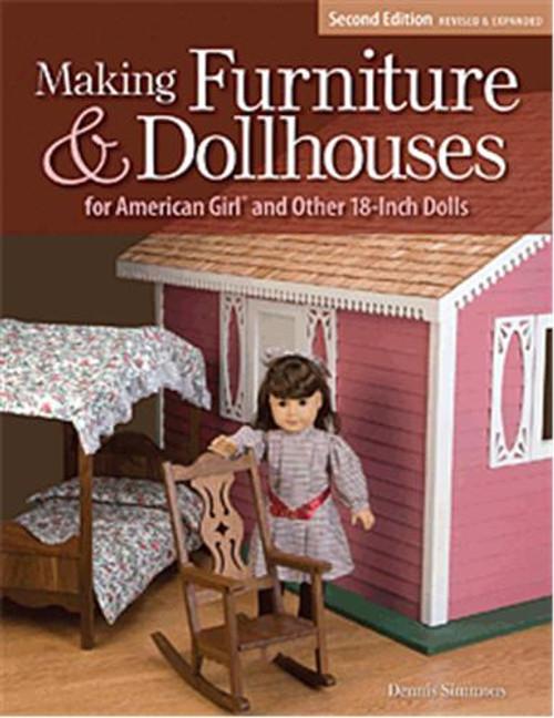 Fox Chapel Publishing Making Wooden Furniture for American Girl Dolls