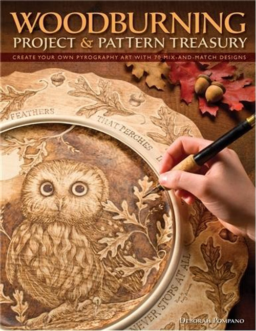 Fox Chapel Publishing Woodburning Project and Pattern Treasury