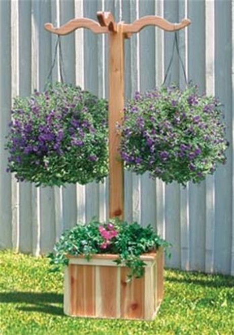Winfield Collection Hanging Planter Box Woodworking  Plan