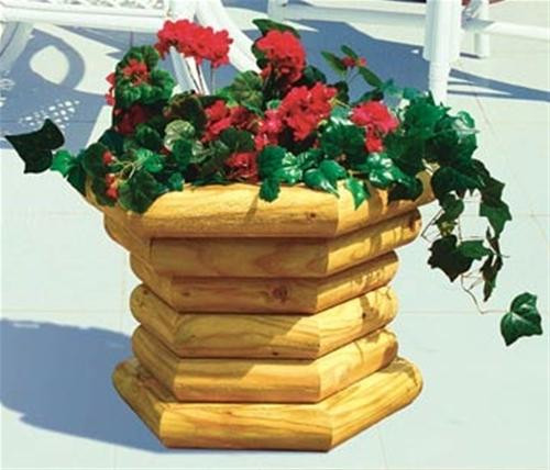 Winfield Collection Deck Planter Woodworking Plan.