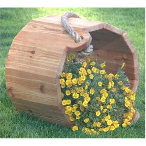 Cherry Tree Toys Wooden Bucket Planter Plan