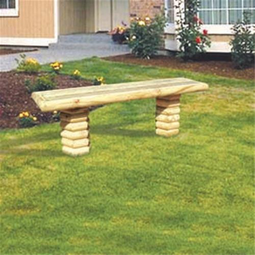 Winfield CollectionLandscape Timber Bench Woodworking Plan