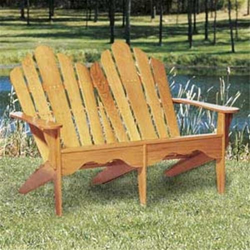 Winfield Collection Adirondack Love Seat Woodworking Plan.