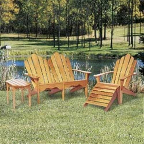 Winfield Collection Set of 4 Adirondack Furniture Plans