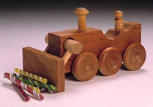 Cherry Tree Toys Bulldozer Plan
