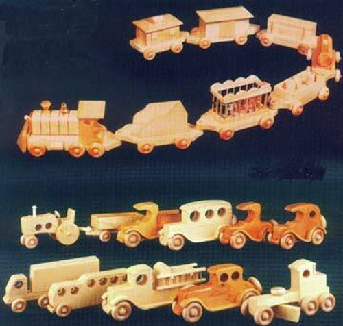 Winfield Collection Wooden Vehicles Plan will keep you busy in the wood shop!