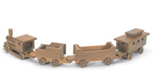 Sherwood Toy Train Woodworking Plan is certainly a fun train to build.