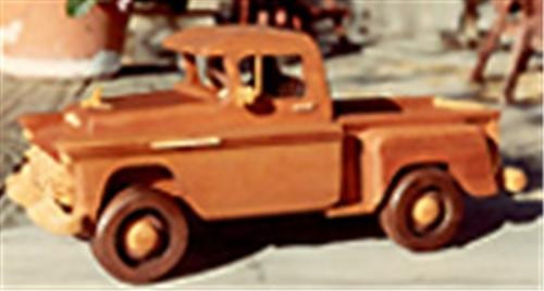 Cherry Tree Toys 1956 Classic Pickup Woodworking Plan
